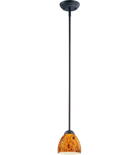 Savoy House Signature 1 Light Pendant in English Bronze 7-909-1-13