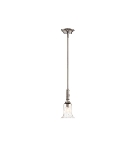 Savoy House 7-9135-1-SN Trudy 1 Light 6 inch Satin Nickel Mini Pendant Ceiling Light photo