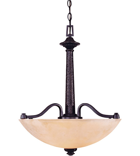 Savoy House Venetian Guild 3 Light Pendant in Slate 7-9408-3-25 photo