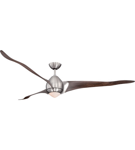 Savoy House Veyron 1 Light 72 Inch Ceiling Fan in Satin Nickel 72-429-3CN-SN