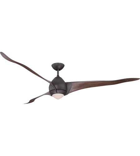 Savoy House Veyron 1 Light 72 Inch Ceiling Fan in English Bronze 72-429-3WA-13 photo