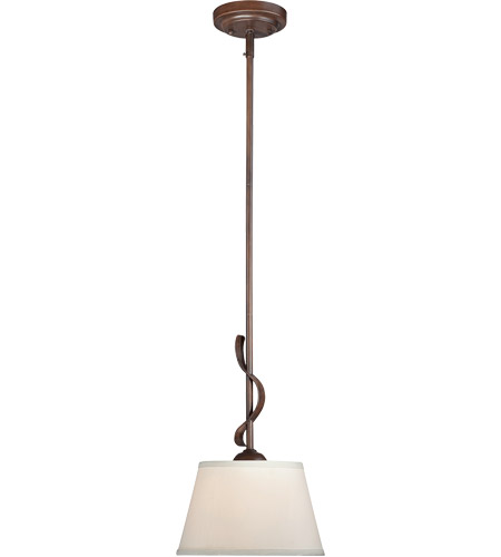 Savoy House Maremma 1 Light Mini Pendant in Espresso 7P-2173-1-129