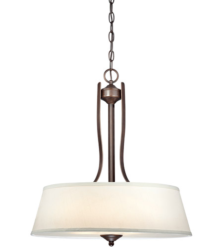 Savoy House Maremma 3 Light Pendant in Espresso 7P-2174-3-129 photo