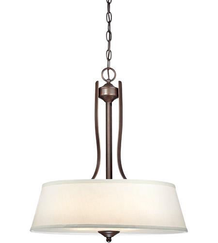 Savoy House Maremma 3 Light Pendant in Espresso 7P-2174-3-129