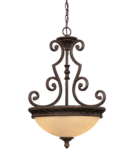 Savoy House Knight 3 Light Pendant in Antique Copper 7P-50207-2-16
