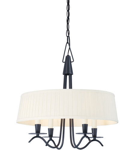 Savoy House Plymouth 4 Light Pendant in Aged Iron 7P-5484-4-55
