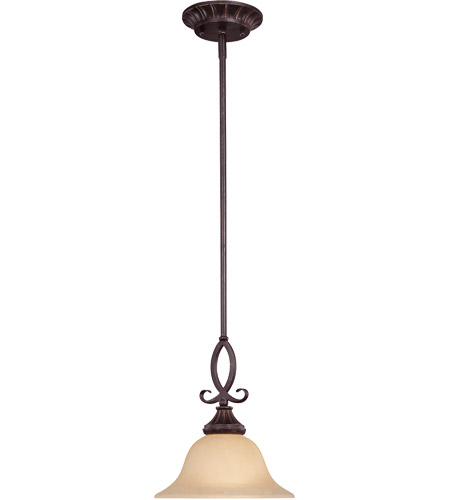 Savoy House Legend 1 Light Mini Pendant in Antique Copper 7P-5595-1-16