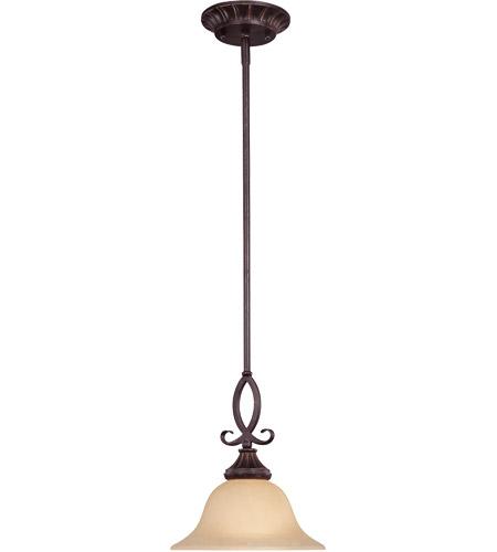 Legend 1 Light 10 Inch Antique Copper Mini Pendant Ceiling Light