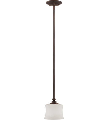 Savoy House 7P-7212-1-13 Terrell 1 Light 6 inch English Bronze Mini Pendant Ceiling Light photo