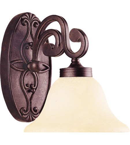 Savoy House Cumberland 1 Light Vanity Light in Oiled Copper 8-0114-1-05 photo