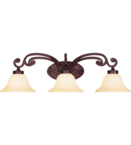 Savoy House Cumberland 3 Light Vanity Light in Oiled Copper 8-0114-3-05 photo