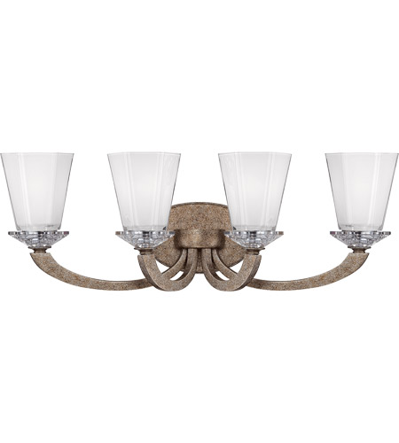 Savoy House Forum 4 Light Vanity Light in Gold Dust 8-1557-4-122