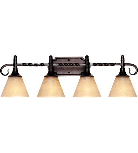 Savoy House 8-1683-4-13 Essex 4 Light 28 inch English Bronze Bath Bar Wall Light photo