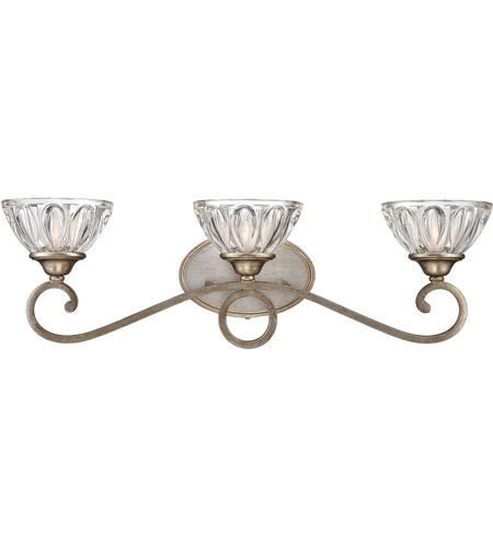 Savoy House Chantilly 3 Light Vanity Light in Andalusite 8-218-3-18 photo