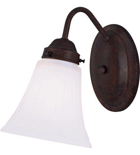 Savoy House Brighton 1 Light Vanity Light in English Bronze 8-3280-1-13