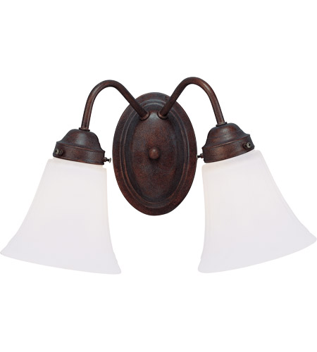 Savoy House Brighton 2 Light Vanity Light in English Bronze 8-3280-2-13
