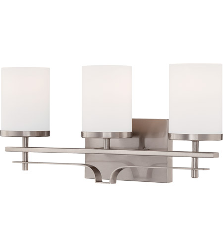 Savoy House Colton 3 Light Vanity Light in Satin Nickel 8-338-3-SN