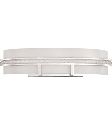 Savoy House Glam 3 Light Vanity Light in Polished Nickel 8-3565-3-109