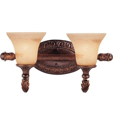 Savoy House Gallant 2 Light Vanity Light in Florencian Bronze 8-36753-2-76 photo