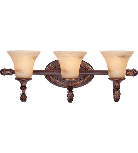 Savoy House Gallant 3 Light Vanity Light in Florencian Bronze 8-36753-3-76 photo