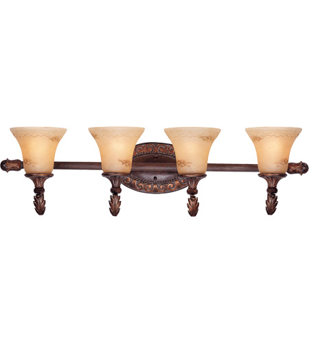 Savoy House Gallant 4 Light Vanity Light in Florencian Bronze 8-36753-4-76 photo