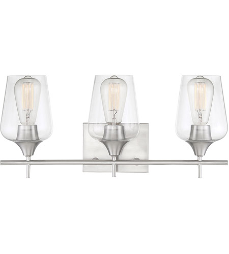 Glass Octave Bathroom Vanity Lights