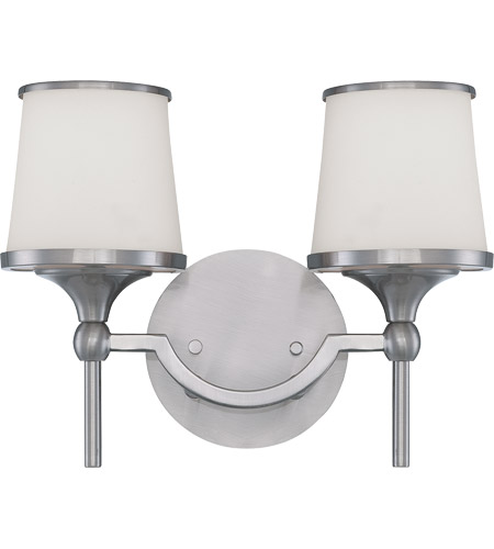 Savoy House Hagen 2 Light Vanity Light in Satin Nickel 8-4385-2-SN