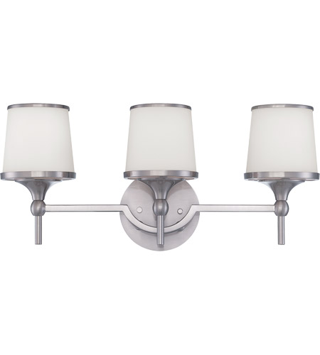 Savoy House Hagen 3 Light Bath Bar in Satin Nickel 8-4385-3-SN photo