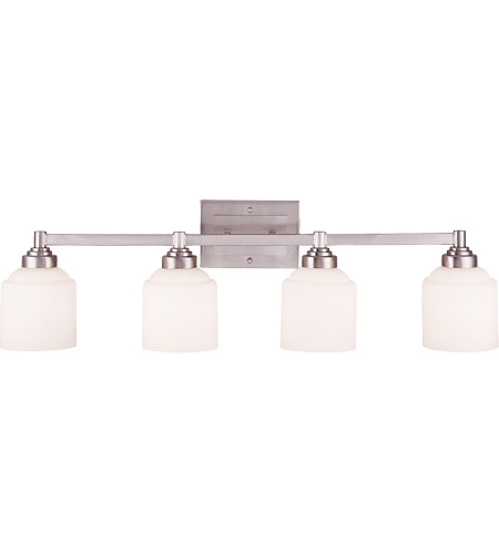 Savoy House 8-4658-4-69 Wilmont 4 Light 34 inch Pewter Bath Bar Wall Light photo