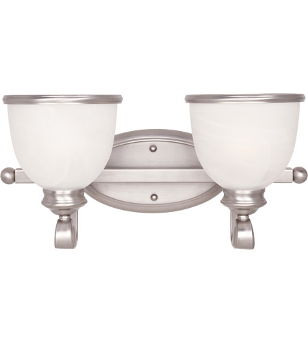 Savoy House 8-5779-2-69 Willoughby 2 Light 17 inch Pewter Bath Bar Wall Light photo