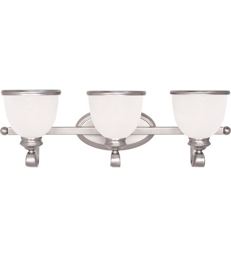 Savoy House 8-5779-3-69 Willoughby 3 Light 25 inch Pewter Bath Bar Wall Light photo