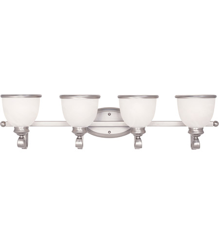 Savoy House Willoughby 4 Light Vanity Light in Pewter 8-5779-4-69
