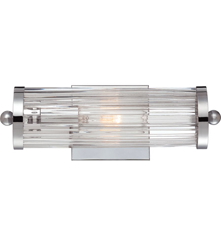 Savoy House Lombard 1 Light Vanity Light in Polished Chrome 8-6801-1-11 photo