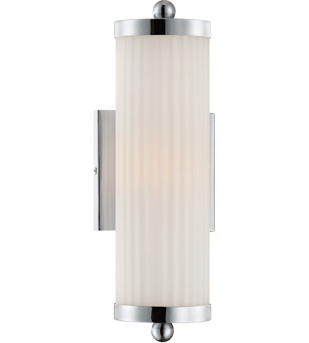 Savoy House Lombard 2 Light Vanity Light in Polished Chrome 8-6801-2-11