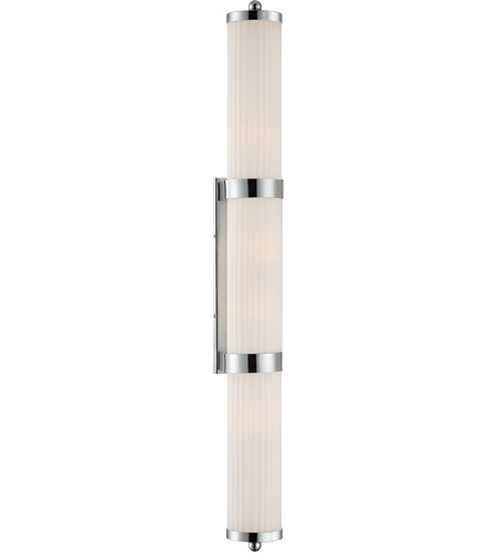 Savoy House Lombard 4 Light Vanity Light in Polished Chrome 8-6801-4-11