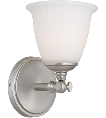 Savoy House Bradford 1 Light Vanity Light in Pewter 8-6830-1-69 photo