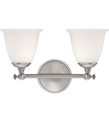 Savoy House Bradford 2 Light Vanity Light in Pewter 8-6830-2-69 photo