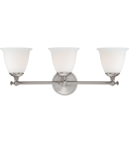 Savoy House Bradford 3 Light Vanity Light in Pewter 8-6830-3-69 photo