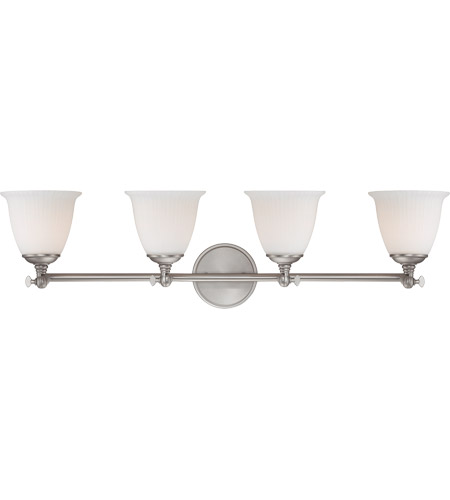 Savoy House Bradford 4 Light Vanity Light in Pewter 8-6830-4-69 photo