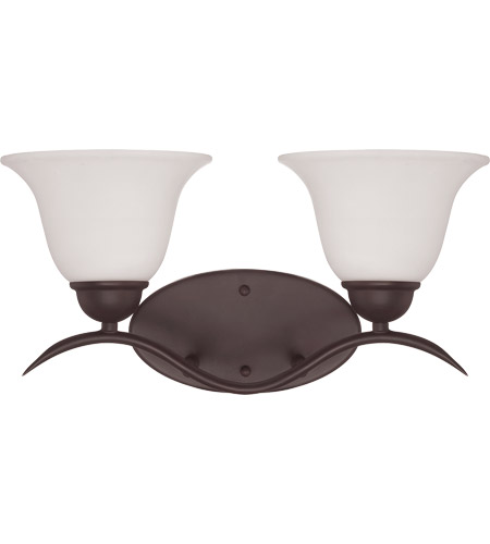 Savoy House Eaton 2 Light Vanity Light in English Bronze 8-6835-2-13 photo