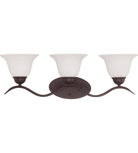 Savoy House Eaton 3 Light Vanity Light in English Bronze 8-6835-3-13 photo