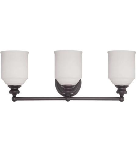 Savoy House Melrose 3 Light Vanity Light in English Bronze 8-6836-3-13