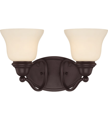 Savoy House Yates 2 Light Vanity Light in English Bronze 8-6837-2-13