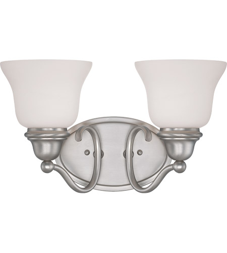 Savoy House Yates 2 Light Bath Bar in Pewter 8-6837-2-69 photo