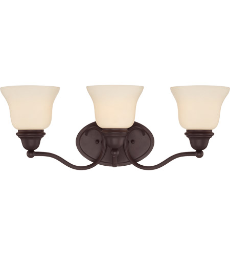 Savoy House 8-6837-3-13 Yates 3 Light 23 inch English Bronze Bath Bar Wall Light in Pale Cream photo