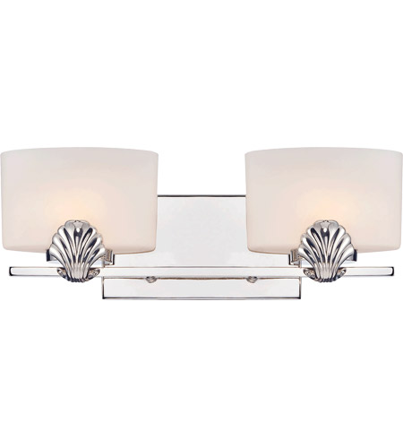 Savoy house pearl 2 light vanity light in polished nickel 8 7500 2 109