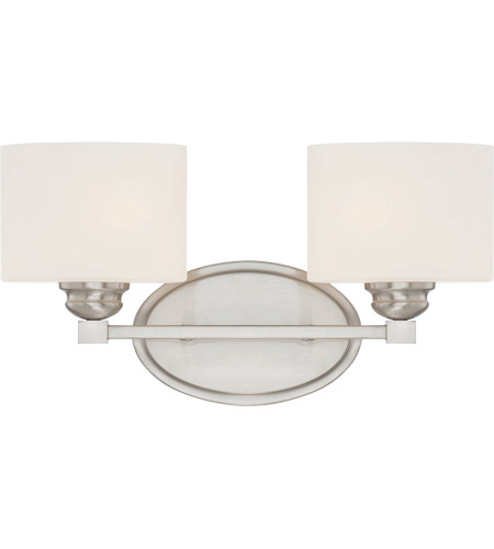 Savoy House 8-890-2-SN Kane 2 Light 16 inch Satin Nickel Bath Bar Wall Light photo