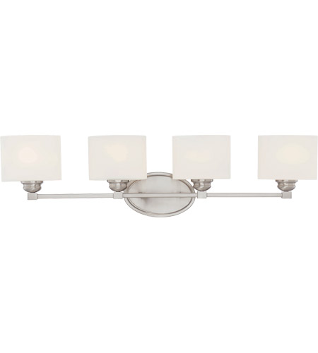 Savoy House SN Kane Light Inch Satin Nickel Bath Bar - Savoy bathroom light fixtures