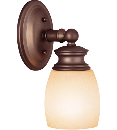 Savoy House Elise 1 Light Vanity Light in Oiled Burnished Bronze 8-9127-1-28 photo