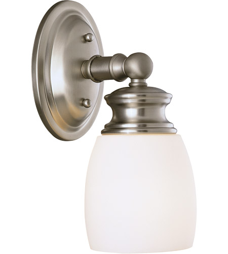 Savoy House Elise 1 Light Vanity Light in Satin Nickel 8-9127-1-SN